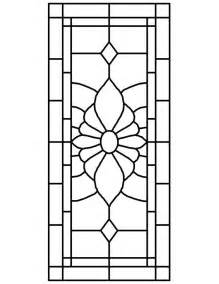 stained glass window templates stained glass patterns for free glass pattern 070