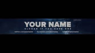 channel banner template free call of duty ghosts one channel banner template