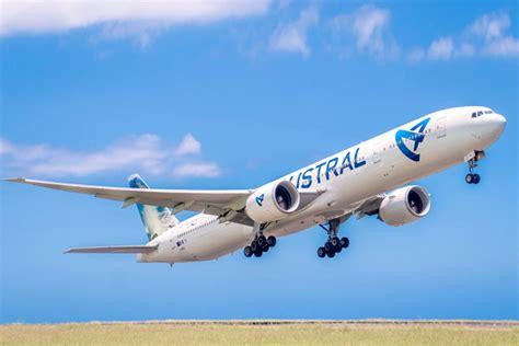 siege air austral boeing 777 300 er air austral plan cabine visite en