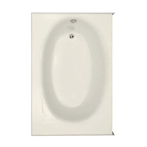 kona bathtub hydro systems kona 5 ft right drain bathtub in biscuit