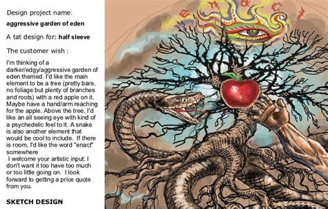 garden of eden tattoo juno designs