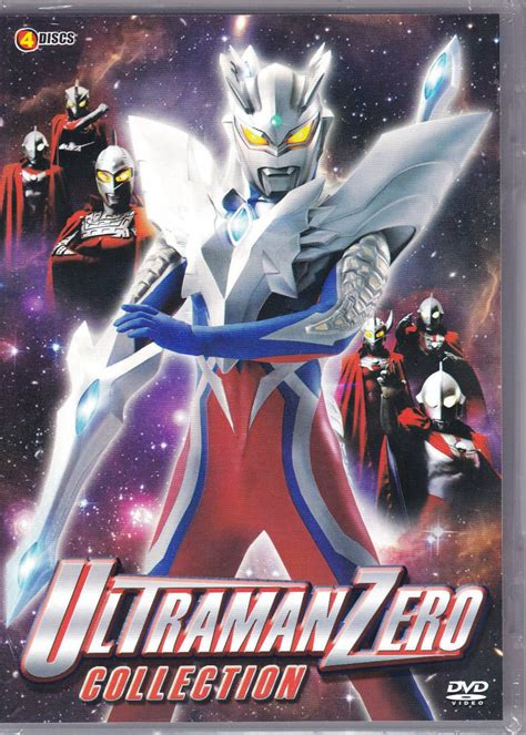 film ultraman galaxy dvd ultraman zero collection side story ultraman saga