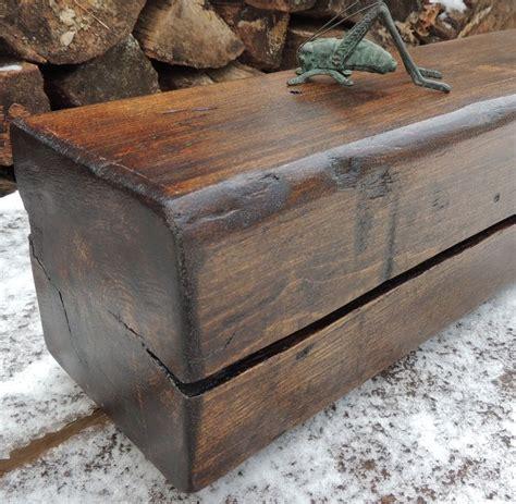 reclaimed wood fireplace mantel shelf dark walnut stained beam reclaimed pine fireplace mantel
