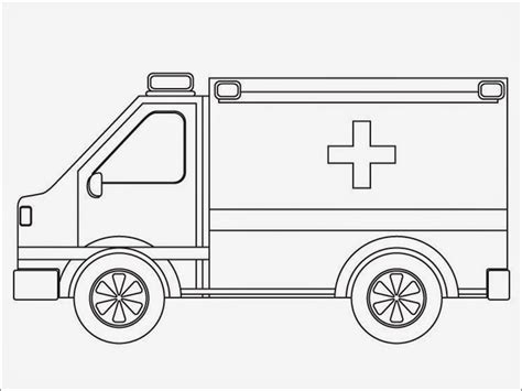 ambulance coloring page free realistic ambulance coloring pages realistic coloring pages