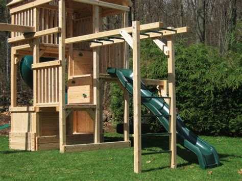 monkey bar swing set play set options wooden add ons triumph play systems