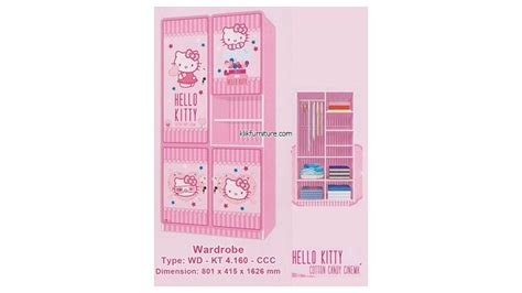 Kamar Set Hello Cotton Cinema Keapanel lemari hello wdkt 4 160 ccc cotton cinema