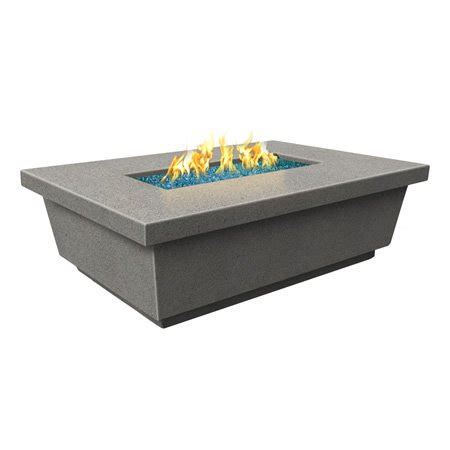 rectangle gas pit table contempo gas pit table rectangle woodlanddirect