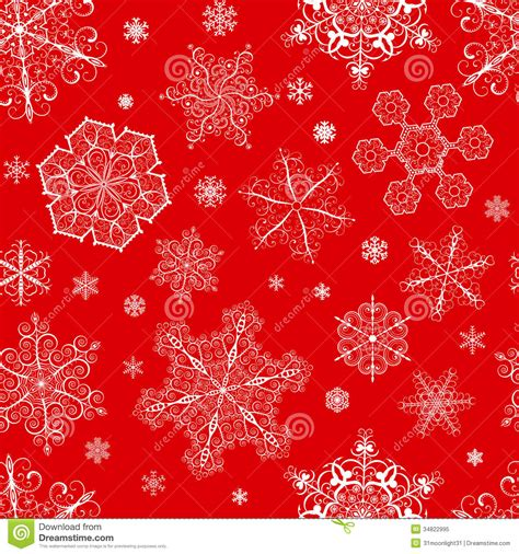 christmas pattern white background christmas seamless pattern from snowflakes stock vector