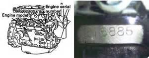Isuzu Part Number Search What Of Isuzu Engine Number Do I Need For Parts Quote