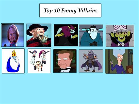Top 10 Funny Memes - top 10 funny villains meme by coralinefan4ever on deviantart