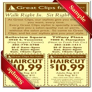 haircut coupons san diego great clips coupons and coupon on pinterest