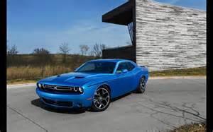 Blue Dodge Challenger 2015 Dodge Challenger Blue Static 3 2560x1600