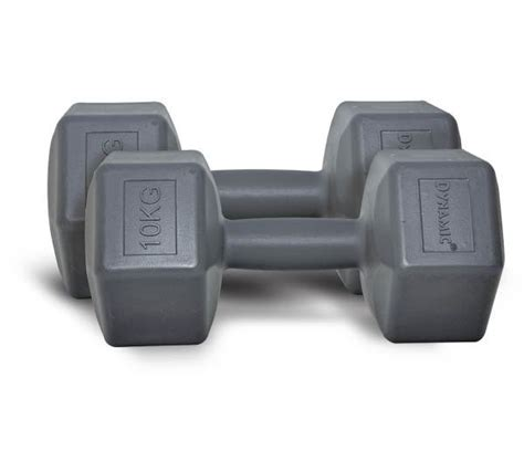Dumbbell Plastik 10 Kg Dynamic Fashion Plastic Dumbbell 10 Kg