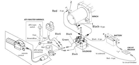 chicago electric winch wiring diagram wiring diagram