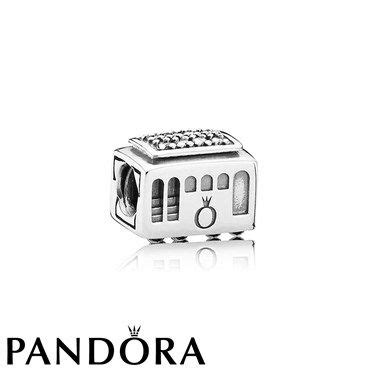 Pandora Clear Cz Cable Car Charm Silver P 490 cable car charm 163 40 00 san francisco pandora charms cable san francisco and