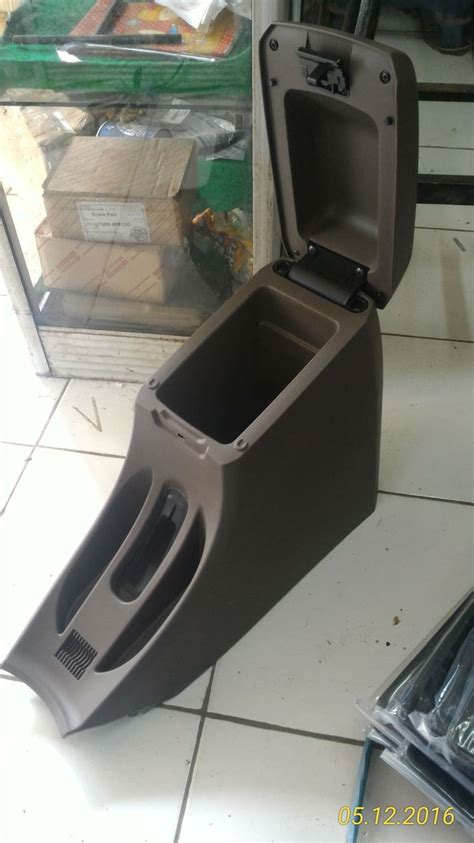 Console Box Armrest Box All New Avanza Xenia Veloz 2012 Keatas console box grand new avanza brown no limits