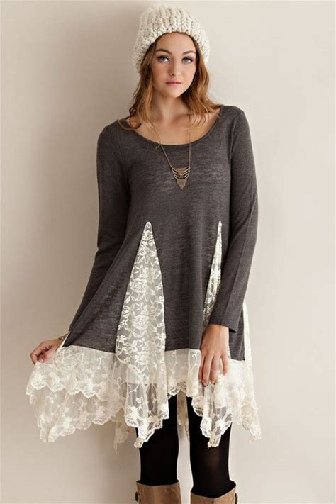 Sweater By Ione Clothing by 1000 Ideas About Lace Tunic On Pretty