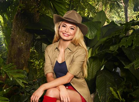 celebrity jungle who is out who is georgia toff toffolo i m a celebrity 2017 winner