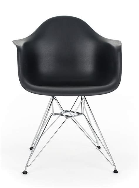 black eames chair with arms eames black replica designer arm chair with steel eiffel