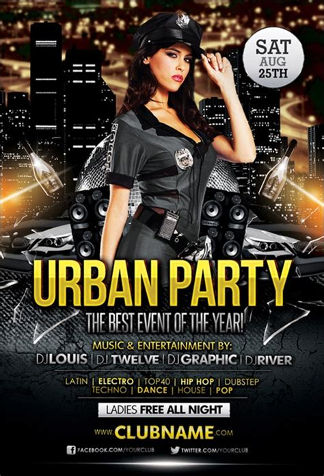 free nightclub flyer design templates 35 awesome flyer templates and flyer designs