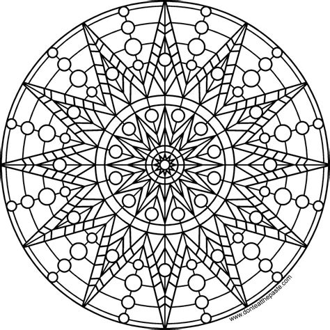 round mandala coloring pages don t eat the paste sun mandala to print and color