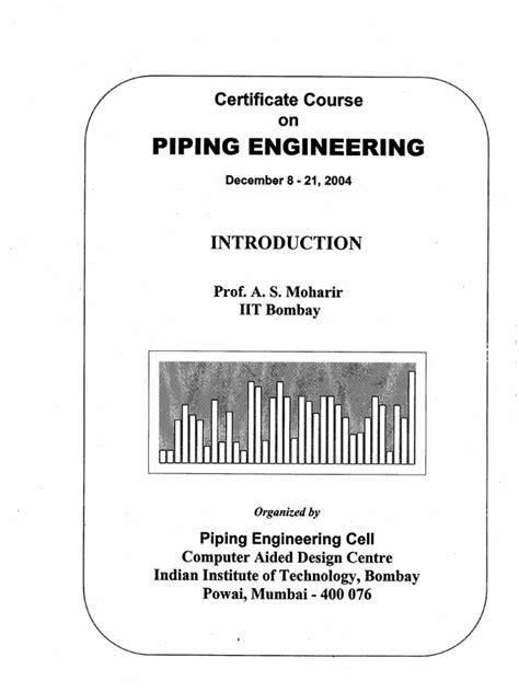 piping layout interview questions pdf piping notes iit bombay