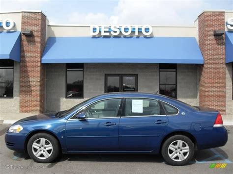 2006 blue chevy impala 2006 superior blue metallic chevrolet impala ls 4898396