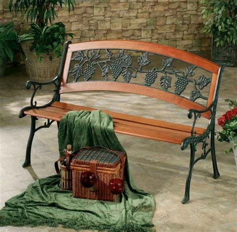 yard bench cool decorative yard benches design home inspirations