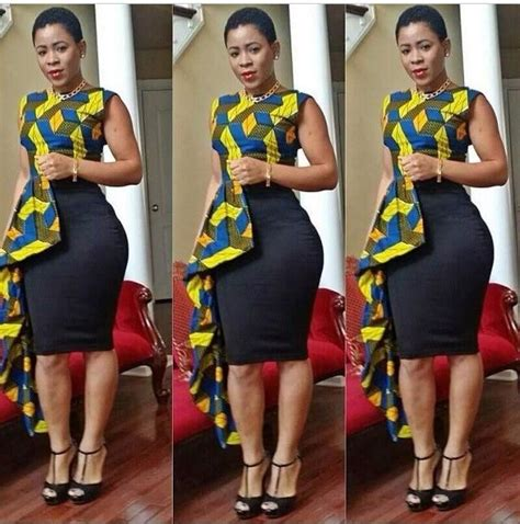 50 Fabulous Modern Ways to Wear African Fabric   Black Girl with Long Hair