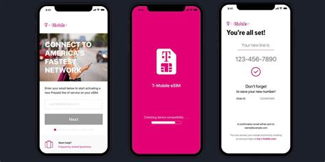 mobile launches initial esim support  iphone xs xs