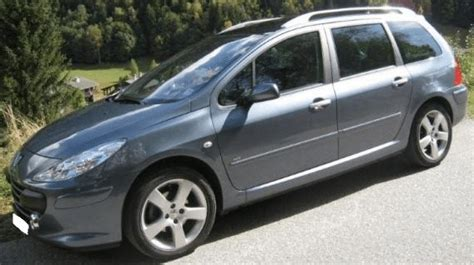 peugeot estate cars for sale 2007 peugeot 307 sw 2 0 hdi automatic 7 seater estate