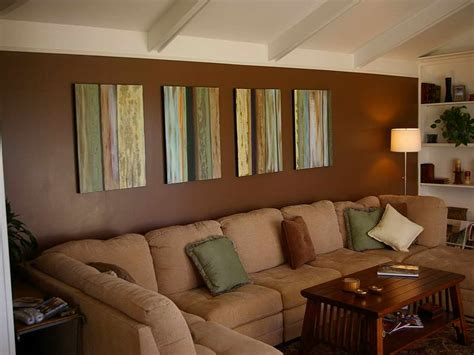 bloombety painting ideas for living room with brown