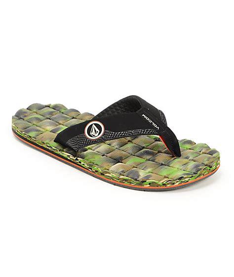Volcom Recliner Sandals Volcom Recliner Camo Sandals