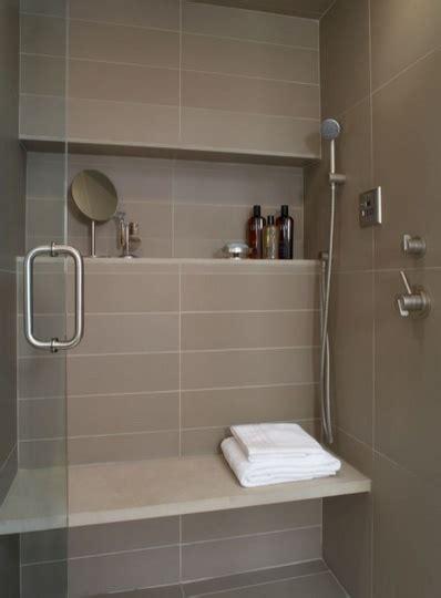 Shower Shelves Built In by