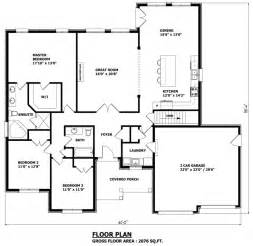 Customizable House Plans by House Plans Canada Stock Custom