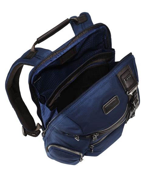 Tumi Backpacker 1 lyst tumi alpha bravo backpack in blue for