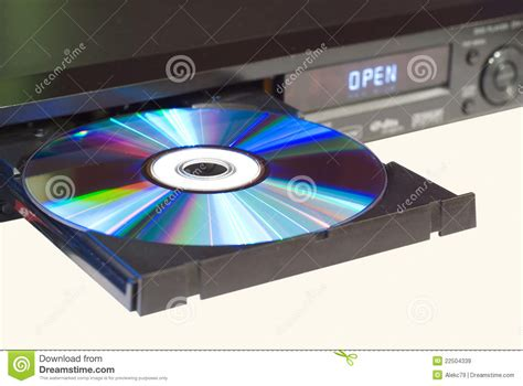 Dvd Player Drawer Won T Open by Dvd Player With An Open Tray Royalty Free Stock Images Image 22504339