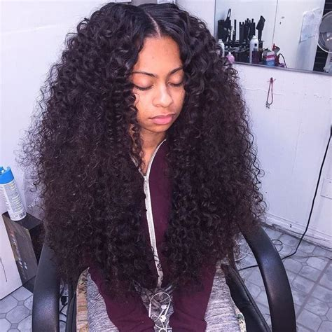 curly black hair sew in 25 best ideas about curly sew in on pinterest wavy