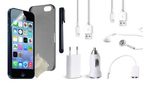 iphone en samung accessoires set groupon goods