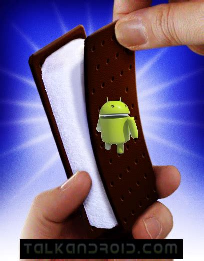 next version of android next version of android will be called sandwich talkandroid
