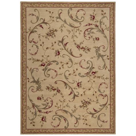 Whimsical Area Rugs Nourison Ashton House Whimsical Garden Area Rug Beige Area Rugs At Hayneedle