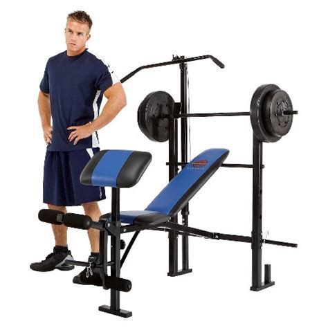weight bench combo set marcy combo bench mcb 252 weight set target