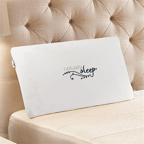 Natures Sleep Pillows by Vitex Gel Infused Memory Foam Pillow Nature S Sleep