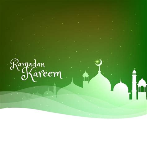 wallpaper green mosque green mosque silhouette background vector free download
