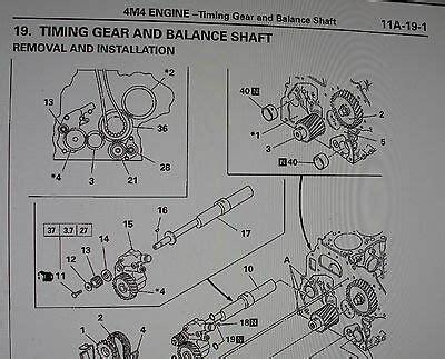 Mitsubishi Delica L400 Workshop Manual Amp 2 8 Td 4m40