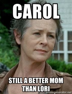 Carol Meme - 15 the walking dead memes from season 4