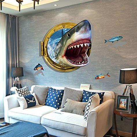 shark wall decor amazoncom
