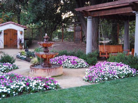 beautiful backyard spanish gardens photo page hgtv