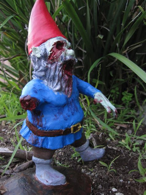 lawn gnome infect your home with flesh eating monster zombie gnomes