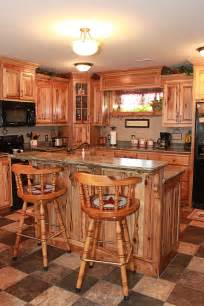 hickory kitchen cabinets the cabinets plus rustic hickory kitchen cabinets